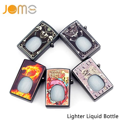 Empty Bottle Lighter Zippo Style For Liquid 20ml Not Unicorn Botol jomotech high quality 20ml e cigarette lighter style dropper bottle empty lighter liquid bottle
