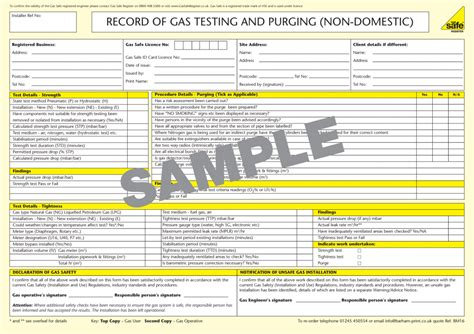 Commercial Background Check Gas Safety Testing R And B Mechanical And Electrical