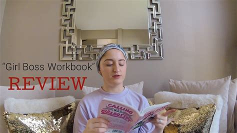 the girlboss workbook an quot the girlboss workbook quot by sophia amoruso review youtube