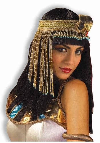 Gamis Cleopatra Embroidery Cleopatra Snake Headband Costume