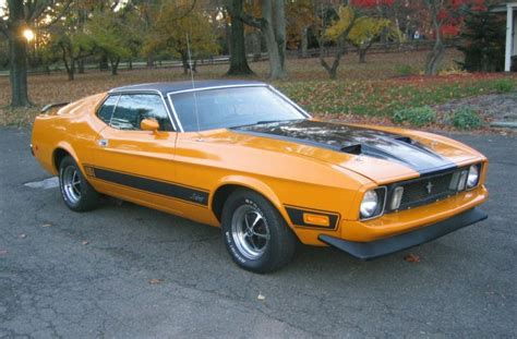 1973 mustang fastback for sale grabber orange 1973 mach 1 ford mustang fastback