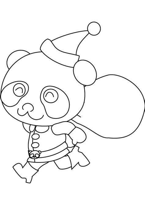 simple santa coloring page free coloring pages of easy draw santa with sack