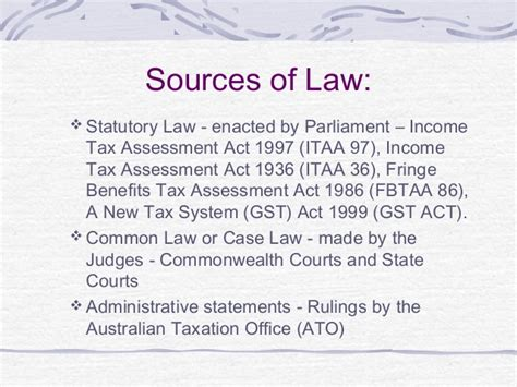 Section 64 Of Income Tax Act by Australian Taxation System