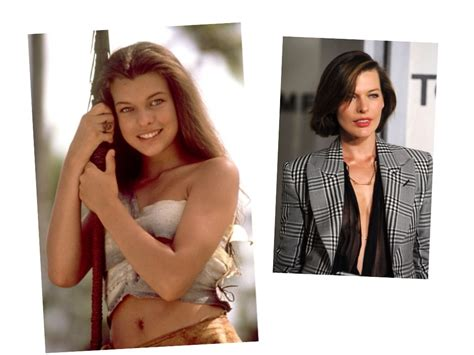 milla jovovich now celebrities then and now most amazing transformations