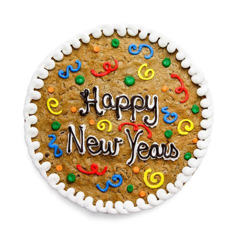 new year cookies and cakes the great cookie new year s cookie cake