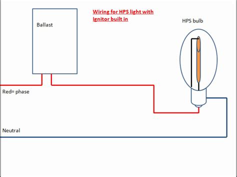 high pressure sodium ballast wiring diagram high wiring