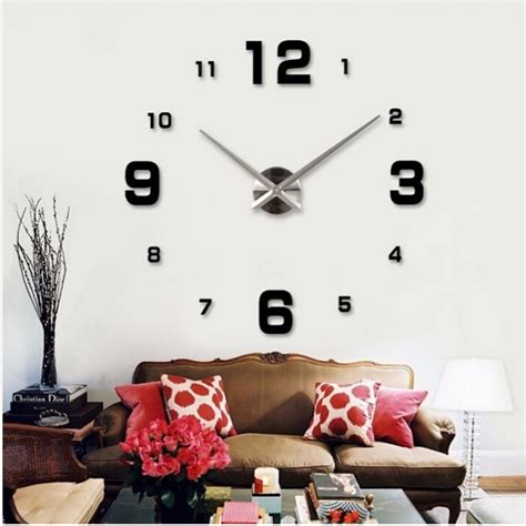 large home decor 2016 hot sale wall clock large decorative wall clocks home
