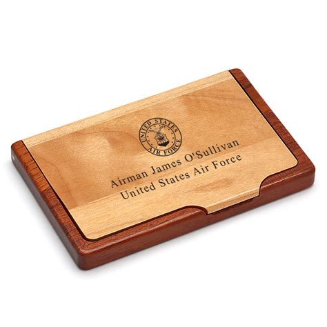 Us Air Gift Card - us air force personalized business card holder executive gift shoppe
