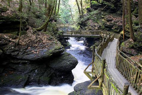 Bushkill Falls Cabins by Hike Stay Package Pocono Mountains Bushkill Falls Pa
