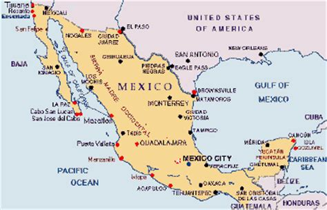 map of the country of mexico mexico recipes culinary history and information