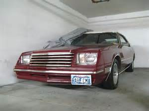 1983 dodge mirada cmx for sale san jacinto california