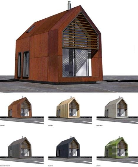 green modular home plans green prefab shed homes small space living by dwelle