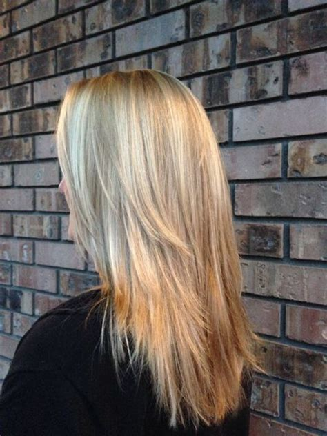images grey and blond hair blend blending gray hair with highlights and lowlights life