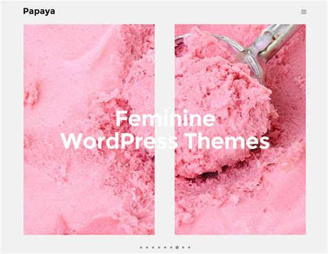 wordpress themes blog and ecommerce top 20 feminine girly wordpress themes for food blogs