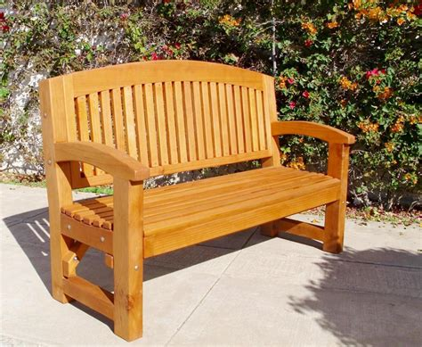 outdoor memorial benches curved wood memorial bench outdoor redwood seating