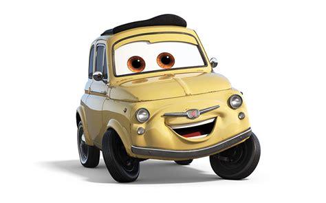 cars characters yellow los personajes que estar 225 n en la nueva cinta de disney