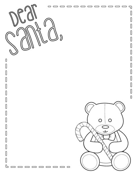 coloring pages letter to santa santa letter free printable m is for monster