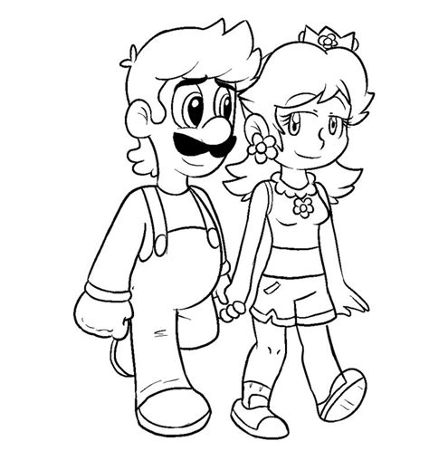 mario coloring pages princess 1000 images about luigi and on like you