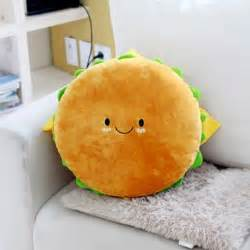 hamburger plush cushion 16 quot cotton food figure doll