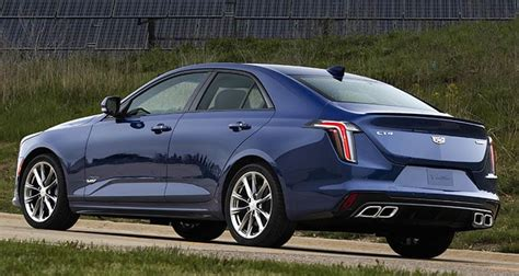 Cadillac Ct4 2020 by Sporty 2020 Cadillac Ct4 V Joins Luxury Lineup Consumer