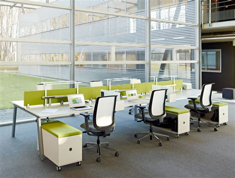 steelcase bench fusion bench individual desks from steelcase architonic