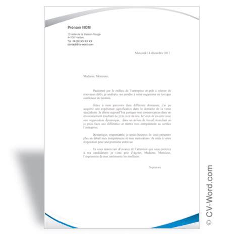 Lettre De Motivation Design Produit Un Mod 232 Le Word Pour Faire Une Bonne Lettre De Motivation Efficace