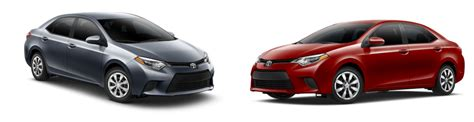 Difference Between Toyota Corolla L And Le Corolla Vs Camry Size Differences Autos Post
