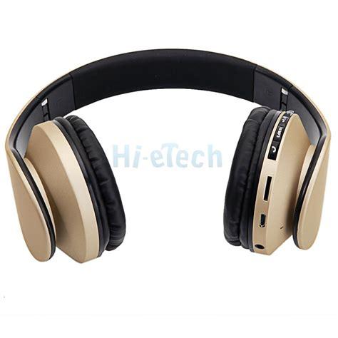 Headset Bass Merek Hk 1 4 in 1 foldable wireless wired stereo bass bluetooth headphone headset mp3 fm us ebay