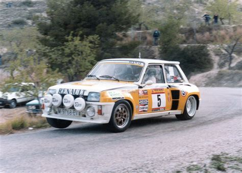 renault 5 turbo b renault r5 turbo b rally hi res car wallpapers