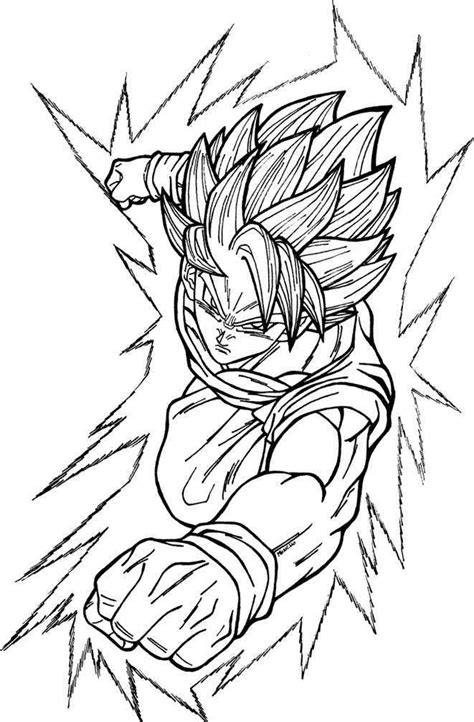 super saiyan 5 coloring pages for free goku super saiyan