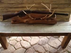 deer antler gun rack craft diy