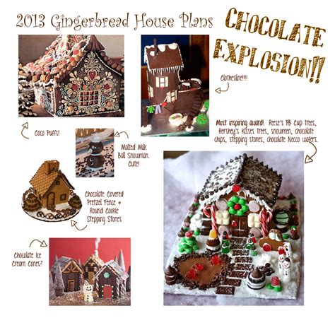 Gingerbread House Plans by Peppysis 2013 Gingerbread House Plans