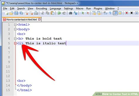 html layout image and text how to center text in html 9 steps with pictures wikihow