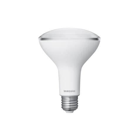 Samsung Led Light Bulb Samsung 65w Equivalent Soft White 2700k Br30 Dimmable Led Flood Light Bulb Gd8wh5009fk0us