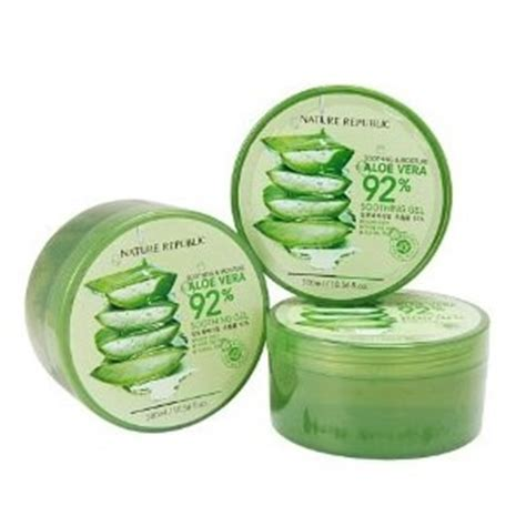 Harga Lip Balm Nature Republic jual nature republic aloe vera soothing gel aloevera