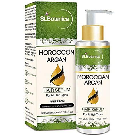 Serum Botanica st botanica moroccan argan hair serum for all hair types