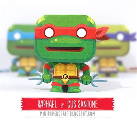 Mutant Turtles Papercraft - papercraft