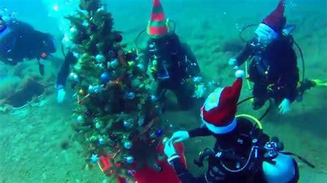 underwater christmas tree  zenobia wreck youtube