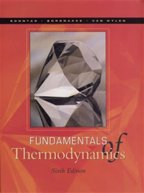 ebooks  fundamentals  thermodynamics  edition   richard  sonntag