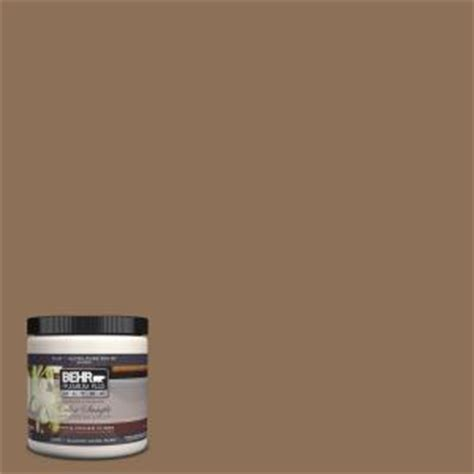 behr premium plus ultra 8 oz 280f 6 sweet brown interior exterior paint sle 280f 6u