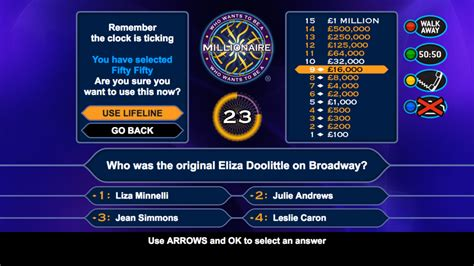 Who Wants To Be A Millionaire Two Way Media Who Wants To Be A Millionaire Layout