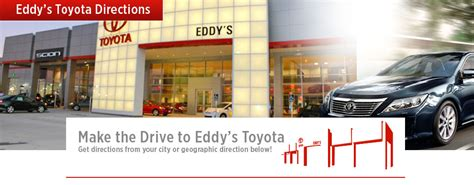 Toyota Dealership Wichita Ks Directions To Eddy S Toyota From South East