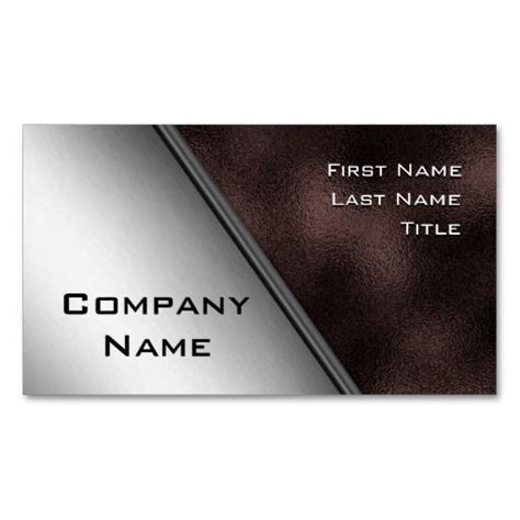 Iron Card Template by Stainless Steel And Iron Business Cards Business Cards