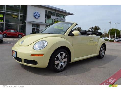2006 yellow volkswagen beetle 2006 mellow yellow volkswagen new beetle 2 5 convertible