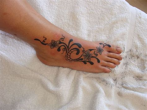womens foot tattoo designs 25 groovy foot tattoos for creativefan