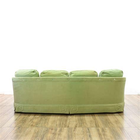 mint green couch quot tomlinson quot mint green velvet sofa loveseat vintage