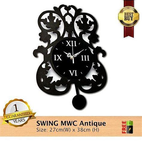 Barang Terlaris Mesin Jam Dinding Sweep Movement Tidak Berisik jam dinding mwc swing antique spesifikasinya 1 mesin seiko quartz sweep movement yang artinya