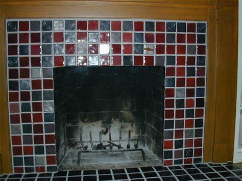 pewabic tile fireplace detroit by steward creations inc