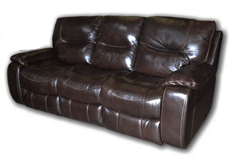 genuine leather reclining sofa giovani brown genuine leather reclining sofa