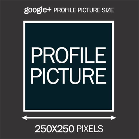 what is the size of the google profile picture google